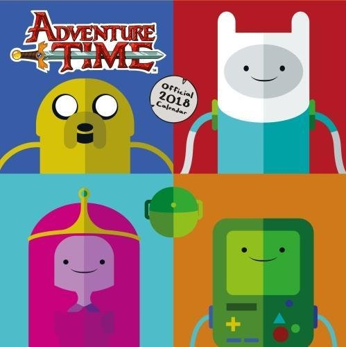 Adventure Time Official 2018 Calendar - Square Wal...