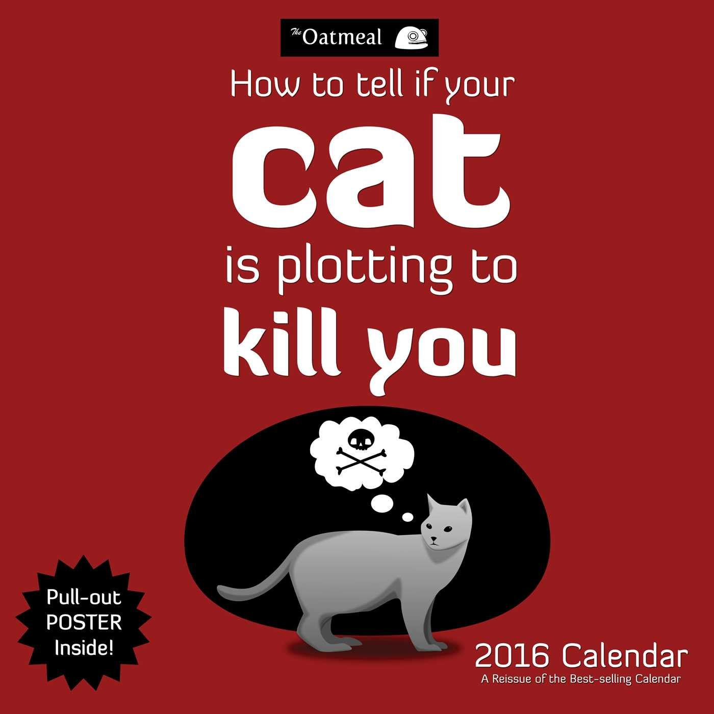 The Oatmeal 2016 Wall Calendar: How To Tell If You...