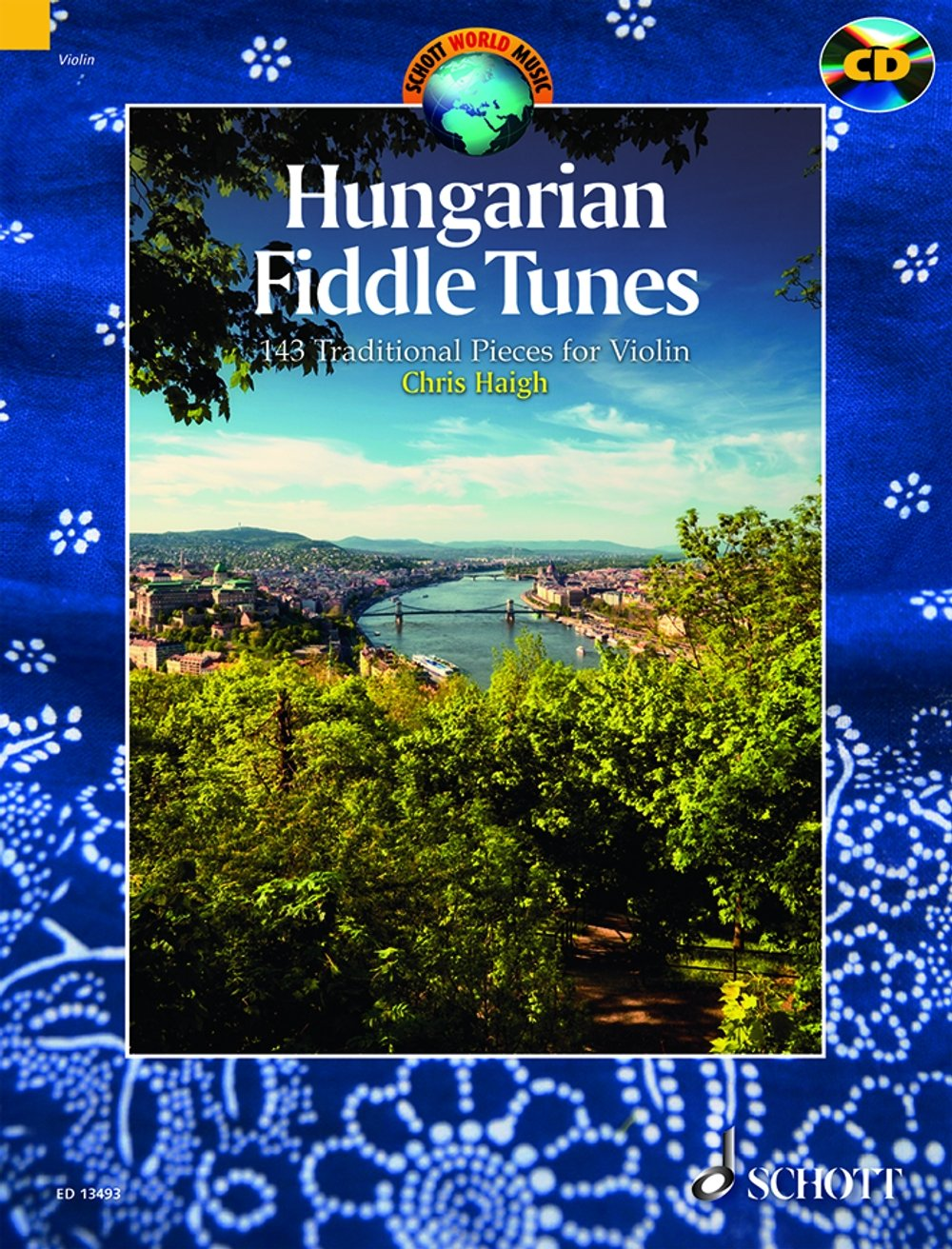 Hungarian fiddle tunes +CD (143 pièces traditionn...