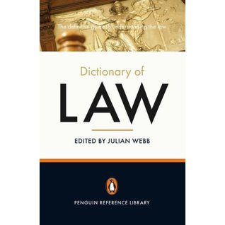 The Penguin Dictionary of Law (Penguin Reference) ...
