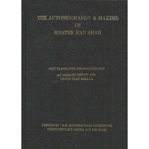 The Autobiography and Maxims of Master Han Shan