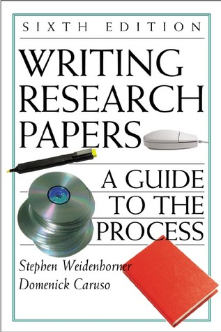 Writing Research Papers: A Guide to the Process wi...