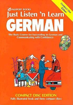 Just Listen 'n Learn German [With Paperback]