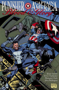 Punisher and Captain America: Blood and Glory, Par...