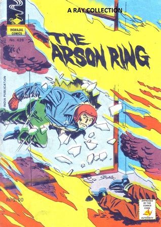Mike Nomad-The Arson Ring ( Indrajal Comics No. 42...